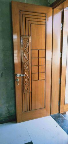Indian Main Door Designs, Single Main Door Designs, House Main Door Design, Main Entrance Door Design, Wooden Front Door Design, Double Door Design, Room Door Design, Door Design Interior, Entrance Ideas
