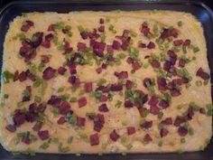 Easy Twice Baked Potato! @allthecooks #recipe #potatoes #side #casserole #potato