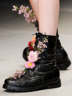 "lamorbidezza: ""Shoes at Ashish Spring 2012 """