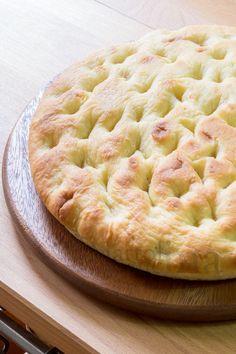 Focaccia of potetos by Antonella V. Gourmet Recipes, My Recipes, Italian Recipes, Bread Recipes, Cooking Recipes, Focaccia Pizza, Focaccia Recipe, Pizzeria, Homemade Marshmallows