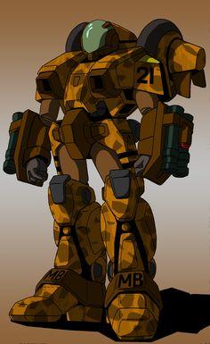 Mospeada-Robotech Ride Armor by ltla9000311.deviantart.com on @deviantART