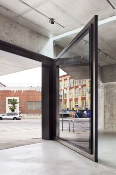 MoMA PS1 Entrance Building by Andrew Berman Architect #architecture