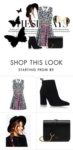 """Busy Days"" by hans4-1 ❤ liked on Polyvore featuring Mary Katrantzou, Stuart Weitzman, ASOS, Mulberry and Chanel"