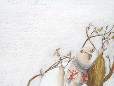 Álbum intimista que ensina a ver outros camiños que discorren paralelos ao noso: o da tartaruga, o do fío da araña. son pequenos-grandes camiños xa que cada un ten o seu camiñar polo mundo. Anna, Collages, Workshop Studio, Illustration, How To Get Away, October, 1, Watercolor, Drawings