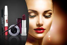 4 or Maybelline Makeup Bundle Nose Contour Brush, Nose Contouring, Eyebrow Brush, Lip Brush, Makeup Brush Set, Synthetic Brushes, Maybelline Makeup, Makeup Bundles, Marble Effect