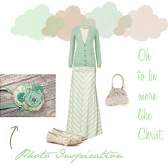 """Sweet Spring: """"I love this color!"""" by trinity-holiness-girl on Polyvore"""