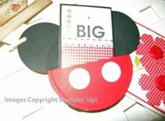 Micky Mouse Gift Card Holder Card