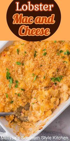 Lobster Recipes, Seafood Recipes, Pasta Recipes, Dinner Recipes, Cooking Recipes, Cheese Recipes, Best Bbq Recipes, Favorite Recipes, Lobster Mac And Cheese
