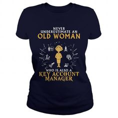 Key Account Manager old woman 1 - #funny tee #baggy hoodie. ORDER NOW => https://www.sunfrog.com/LifeStyle/Key-Account-Manager-old-woman-1-Navy-Blue-Ladies.html?68278