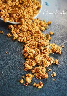 Un granola salé, qui