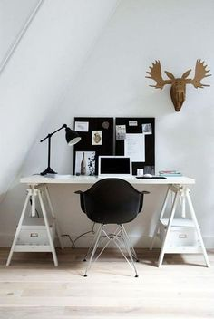 #Monochrome = perfect for home office