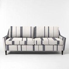 Everett Upholstered Sofa - Prints #westelm