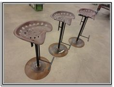 tractor seat bar stools for sale Google Search