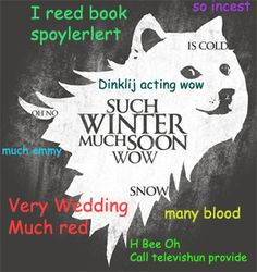 """So Games Much Thrones Wow (the """"unedited"""" version of the Shirt.Woot T: http://shirt.woot.com/offers/so-games-much-thrones-wow#read-more)"""