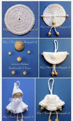 Items similar to Doll brooch on Etsy - Her Crochet Crochet Diy, Crochet Dolls, Crochet Crafts, Crochet Projects, Sewing Crafts, Christmas Crochet Patterns, Crochet Christmas Ornaments, Christmas Angels, Xmas Elf