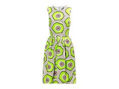 Carven Kiwi-Print Dress | Spring Fashion, Beauty, and Home Finds 2014 | Everywhere