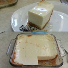 Amazing 3 ingredient cheesecake. Works and is yumo. 1kg yogurt mixed with one tin condensed milk. Crush packet of biscuits and pour crumbs in a microwave proof container. I used glass. Pour the yogurt mixture on top of crumbs. Microwave for 5 min. Cool n eat. Works with low fat yogurt. NO butter mixed in crumbs. When the yogurt cooks it makes crumbs hard. The yogurt turns into a soft cream cheese when cool. Did i say yumo ?? Oh definitely.