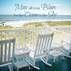 Blue is the Best Color for Relaxation - Beach Bliss Living Old Florida, Florida Beaches, Florida Style, Florida Travel, Beach Bum, Ocean Beach, Beach Trip, Porches, Best Color
