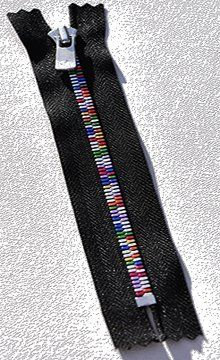 "3 1/2"" Zipper YKK Excella Zippers ~ The ""Rainbow"" Excella Closed Bottom ~ Black (1 Zipper / Pack) by YKK Excella, http://www.amazon.com/dp/B006H7IAMU/ref=cm_sw_r_pi_dp_gd02pb0EW1GS7"