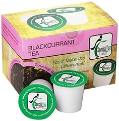 Blackcurrant Black Tea, Single Serve Pod (Pack of 10) * Check out the image by visiting the link.