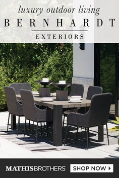 Check out these premium exterior furniture pieces for your Summer staycation!