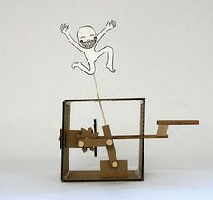 Time: The Dancing Automaton simple mechanical design in this automata toy makes it well worth trying for your first steps into automata making