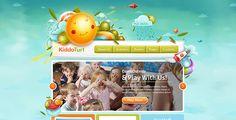KiddoTurf - впечатляющая WordPress тема с великолепным дизайном для сайта детского сада или центра дневного ухода за детьми. С великолепным дизайном, этот