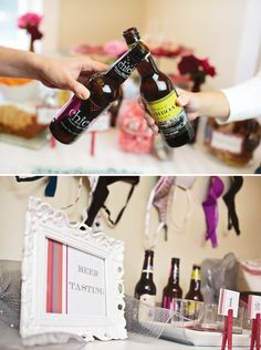 beer-bra-bachelorette-party- check out this blog when you get a chance i think something like this in the hotel before we go out would be cool