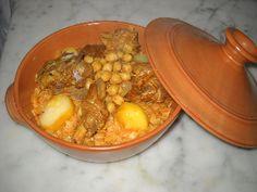 Nwasser à la viande d'agneau - Plat - recette tunisienne chahiatayba.com