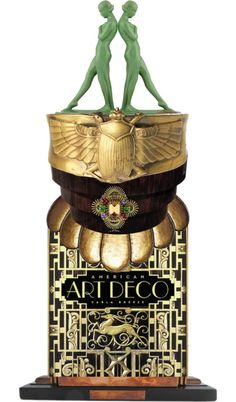 """Art Deco Sculpture"" by colbysma on Polyvore"