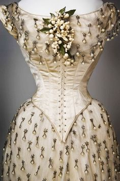 Vintage Wedding Gown 1887