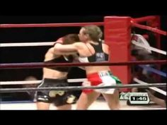 Gracyer Aki vs Silvia La Notte 女子キックボクシング World Queen Tournament ① シルビア・ラノット vs グレイシャア亜紀   kick boxing muai thai