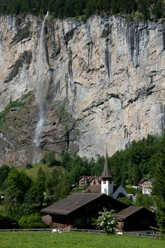 Lauterbrunnen village, Switzerland