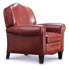 Shop for Alanna Leather Recliner. Get free delivery at Overstock.com - Your Online Furniture Shop! Get 5% in rewards with Club O! - 20854796