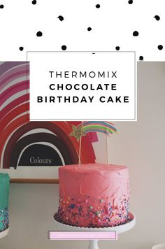 You're looking for a reliable, no-fail easy Thermomix Chocolate Cake right? This is it. It's the perfect cake, great for kids birthday cakes.