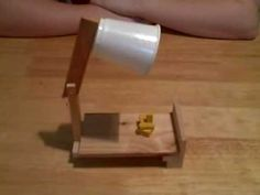 Leprechaun trap with moving part