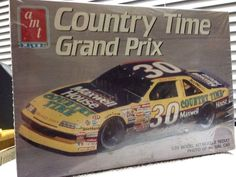 AMT ERTL Michael Waltrip Country Time Pontiac #30 NASCAR 1/25th Model 1990 Rls  #AMTERTL