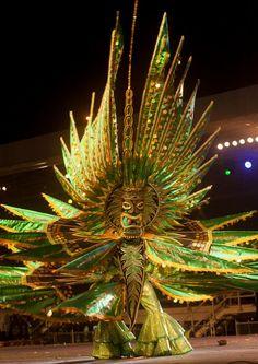 Hyarima - Amerindian Cacique Trinidad Carnival 2013
