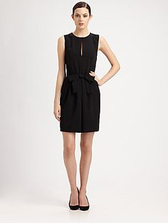 Moschino Cheap And Chic Bow-Front Dress