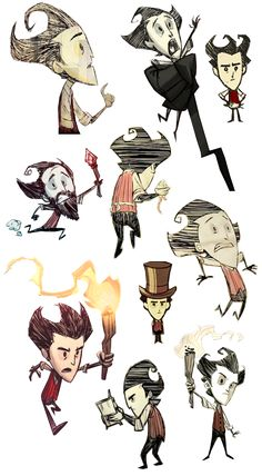 Don't Starve: Wilson Collection 1!