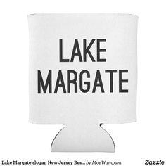 Lake Margate slogan New Jersey Bestseller Can Cooler