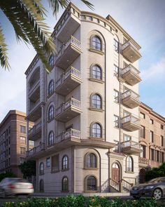 """Check out this @Behance project: """"New Classic building"""" https://www.behance.net/gallery/34738205/New-Classic-building"""