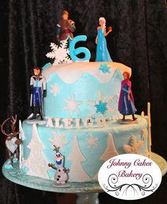 Birthday Cakes - Frozen Birthday Cake Bottom WASC