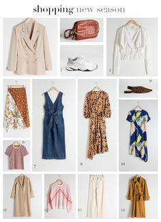 Una selección shopping para esta primavera 2019 de la mano de A Trendy Life. Color Naranja, Duster Coat, Seasons, Denim, Jackets, Shopping, Fashion, Clueless, Fall Winter