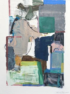 Brian Coleman, 'These Days Continue', Mixed Media on Canvas, 48x36 - Anne Irwin Fine Art