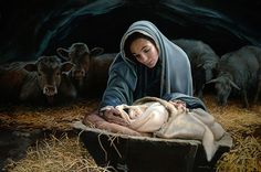 Liz Lemon Swindle - Young Messiah -  LIMITED EDITION CANVAS Published by the Greenwich Workshop
