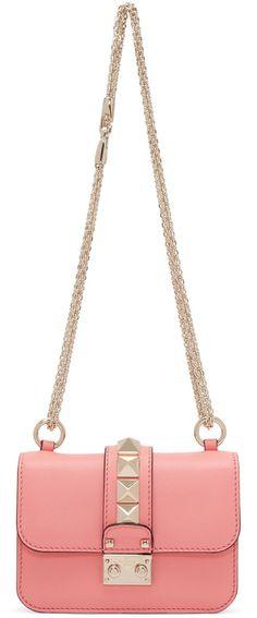 7acfc86b81ac Valentino Pink Mini Lock Bag Valentino Clothing, Valentino Bags, Cute  Handbags, Valentino Garavani