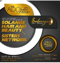 Moma's Healthy Hair Journey: Sisters Network and Solange Hair and Beauty Shop L...