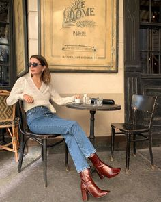 Paris Outfits, Fall Outfits, Casual Outfits, Cute Outfits, Aesthetic Fashion, Aesthetic Clothes, Aesthetic Girl, French Girl Style, My Style