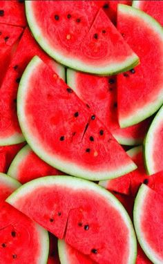 watermelon, wallpaper, and fruit image - Pretty Things, Pin Any Thing❤️ - Red Colour Wallpaper, Food Wallpaper, Summer Wallpaper, Wallpaper For Your Phone, Screen Wallpaper, Interior Wallpaper, Trendy Wallpaper, Cellphone Wallpaper, Girl Wallpaper